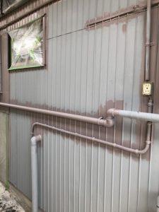 小牧市にて外壁塗装工事 ~ダメ込み~