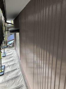 小牧市にて外壁塗装工事 ~トタン壁~