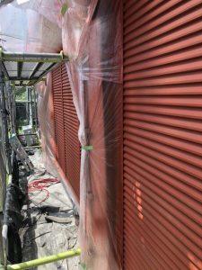 小牧市にて外壁塗装工事 ~雨戸塗装~