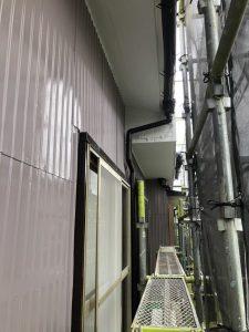 小牧市にて外壁塗装工事 ~各所タッチアップ~